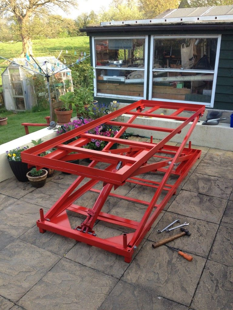 Mild Steel Motorcycle Lift