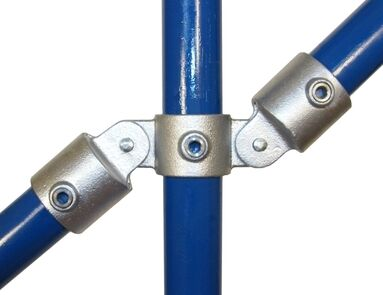 Interclamp 167 Double Swivel Connection Tube Clamp