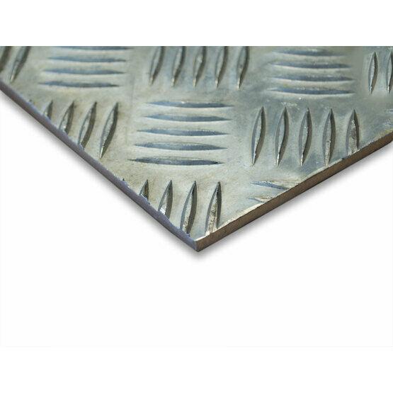 how to clean aluminium chequer plate