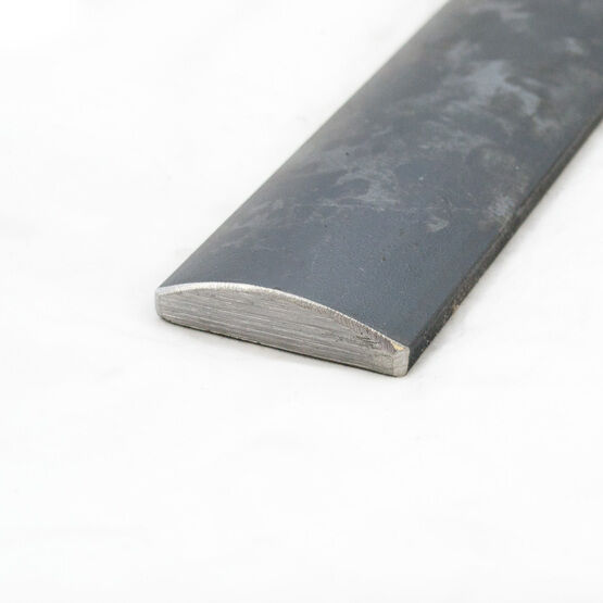 Mild Steel Half Round Square Edge